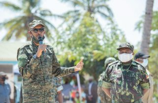 Work Must Go On- President Kagame to Joint Troops in Mozambique