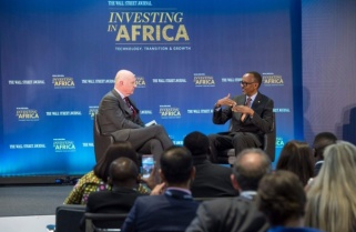 """Kagame Speaks on Donald Trump, RPF's Crystal Ventures and """"Fake News"""""""