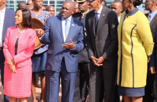 Presidents Kagame, Dr. Mokgweetsi Masisi Hold Talks in Botswana