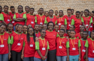 Jeannette Kagame Asks Students to Be Active Citizens
