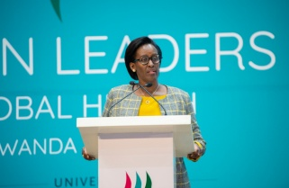 First Lady Jeannette Kagame Pushes for More Women in Leadership Positions