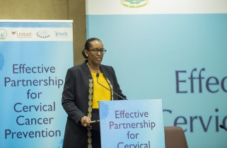 First Lady Jeannette Kagame Rallies Behind Ending of Cervical Cancer