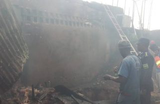 Fire Guts A Plastic Factory In Kigali City