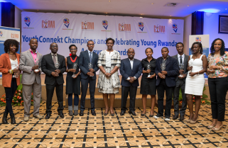 First Lady Awards Yet More Professionals Shaping Rwanda