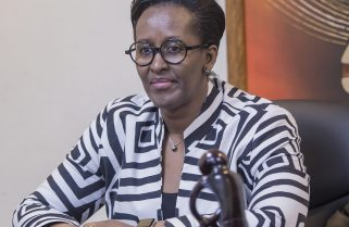 Mrs. Jeannette Kagame Outlines Young Women's Challenges, Suggests a Breakthrough