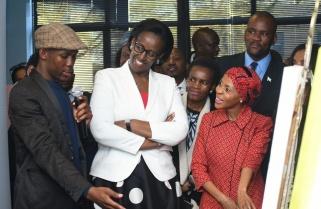 Rwanda's First Lady Witnesses Botswana's Initiatives to Fight HIV/AIDS, NCDs