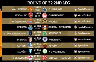 Featured: Watch UEFA Europa League On StarTimes- English Clubs Well Positioned