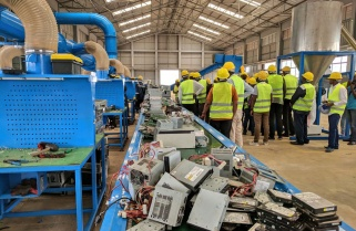 Schools Start Benefiting from e-Waste Plant
