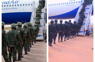 OFF TO MOZAMBIQUE: Rwanda Begins Airlifting Joint Force to Cabo Delgado