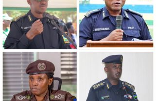 President Kagame Promotes Police, Prisons Heads