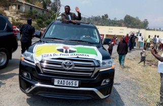 Dr. Habineza Campaigns in Nyamasheke district