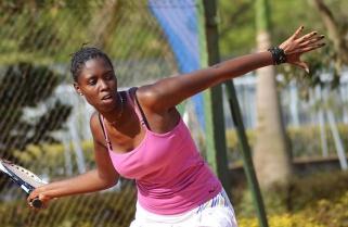 Havugimana, Umumararungu Cruise to Quarters in Rwanda Tennis Open