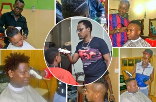 Meet Hamza, Kigali Celebrities' 'Official' Barber