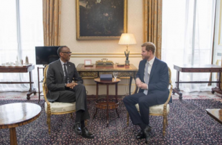 Kagame Meets Prince Harry Ahead of CHOGM