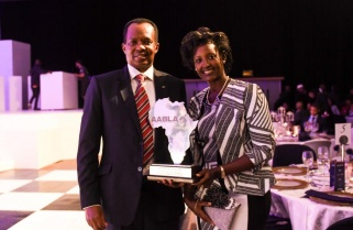 Kagame Wins African of the Year Award