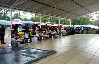 Rwandans Across the Country Converge at Commemoration Sites for Kwibuka24