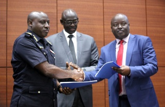 National Police Hand Over to Rwanda Investigations Bureau