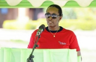 Rwanda's First Lady inspires youth to excel
