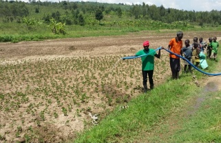 Global Civic Sharing Donates Irrigation Equipment to Small Scale Farmers