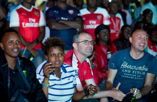 How Arsenal Fans in Rwanda Endured a Disappointing Europa League Final
