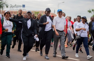 Photos: First Lady Attends Car Free Day