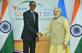 Kagame, India PM Vow 'Zero Tolerance to Terrorism'