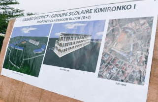 Kagame Pledges Rwf5M for Construction of Model School in Kigali