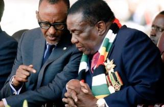 Kagame Attends Inauguration of President Mnangagwa