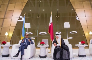 Kagame to Hold Talks with Emir of Qatar
