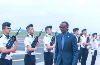 Kagame in France as Rwanda, Four African Countries Join the G7 Summit
