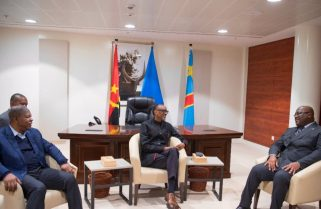 Kagame Hosts Angola, DRC Presidents Ahead of Quadripartite Meeting