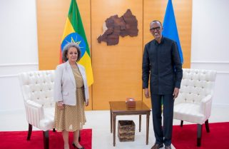 Ethiopian President Visits Rwanda