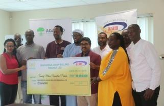 Azam Bakhresa Rwanda Donates Rwf 20M to Agaciro Dvpt Fund