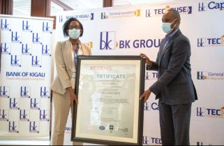 Bank Of Kigali Gets ISO Certification