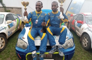 Gakwaya Jean Claude Wins Mountain Gorilla Rally 2019