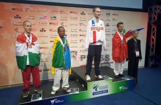 Rwanda Wins Gold at World Para-Taekwondo Championships