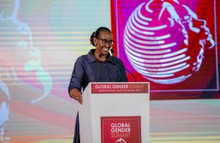 Mrs Kagame's Stand: What a Man Can Do, A Woman Can Do