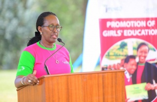 First Lady Jeannette Kagame Dedicates Women's Day to Female Best Students
