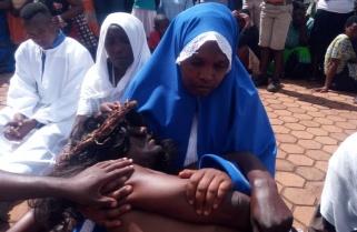 Jesus Impersonator at the First Church in Rwanda