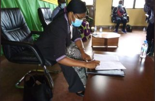 How President Kagame Received A Will From An Elderly Genocide Widow