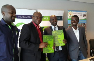 KCB Injects Rwf40M in Youth Employment Program
