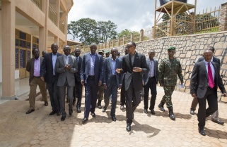 Kagame Meets Leaders in 'Poorly Performing' Southern Province