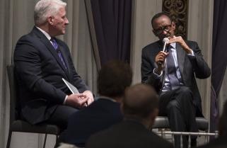 Kagame Recalls Vivid Memories of 'Blood-stained' Rwanda