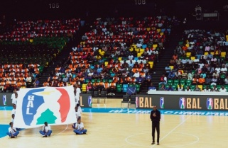 Photos: Pomp and Fanfare as Kagame Unveils Basketball Africa League logo