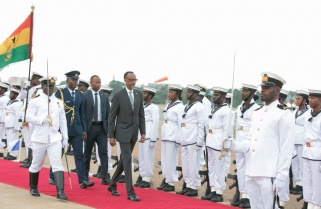 President Kagame in Ghana for African Transformation Forum