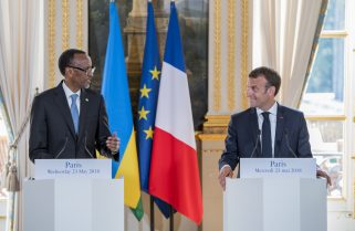 Kagame In France for Conference On Sudan, African Economies