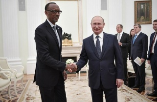 President Paul Kagame in Russia for Russia – Africa Forum