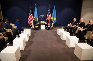 Trump Calls Kagame 'A Friend'
