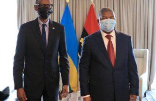 President Kagame in Luanda- Angola for ICGLR Mini Summit