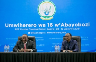 Our Relationship is one of the Best – Uhuru to Kagame